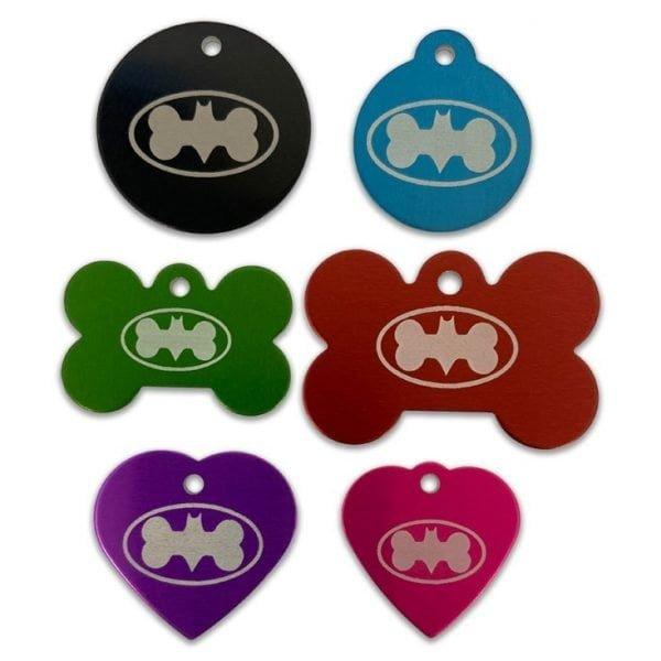 Bat Dog Designer Tags