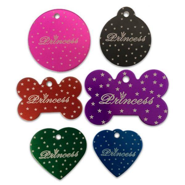 Princess Designer Tags