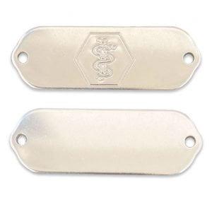 Medical Alert Bracelet Blank Tags