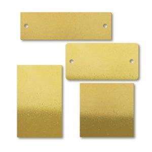 Brass Custom Blank Tags & Plates