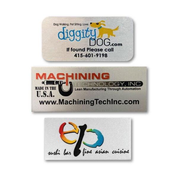 Custom Printed Aluminum Labels