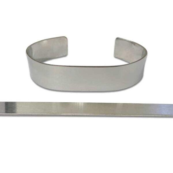 Stainless Steel Memorial Bracelet Blanks