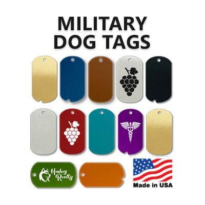 MILITARY DOG TAGS