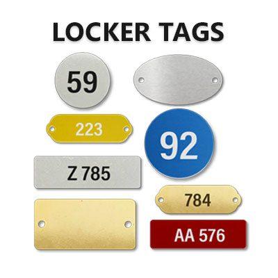 LOCKER TAGS